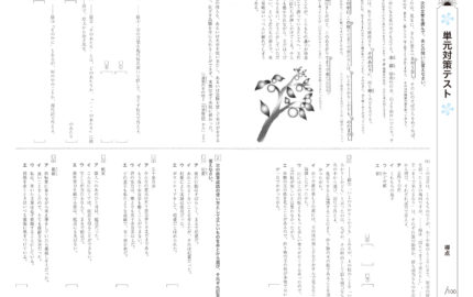 中1_2学期実力テスト_国語