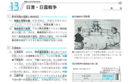 中2社会歴史日清日露戦争の要点まとめ