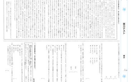 中2_1学期実力テスト_国語