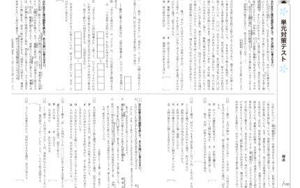 中3_2学期実力テスト_国語