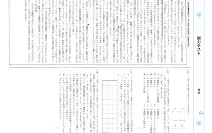 中3_3学期実力テスト_国語
